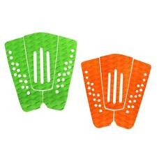 3Pcs Surfboard Traction Tail Pad Deck Grip Skimboard SUP Surf Paddle Shortboard