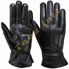 Women's Winter Driving Gloves Soft Thermal Linning Dressing Genuine Leather New