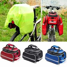 4 in 1 BICYCLE BIKE TAILSTOCK STRIP CAMEL CYCLING EQUIPMENT REAR PANNIER BAG ~YY