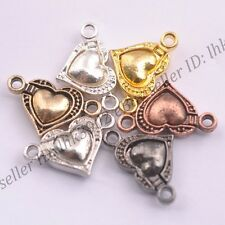 5/10/20Sets Heart Jewelry Powerful Magnetic Clasps 20x12MM