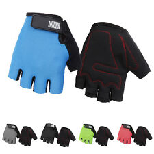 Gel Half Finger Gloves For Sports Racing Cycling Motorcycle MTB Bike Bicycle NEW