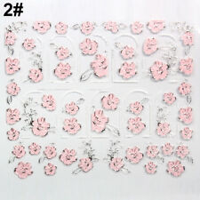 3D DIY EMBOSSED DESIGN NAIL ART STICKERS MANICURE NAIL DECAL TIPS  ALLURING