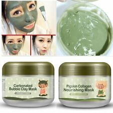 Pigskin Collagen Shrink Pore Moisturizing Acne Blackhead Treatment Masks 100g AG