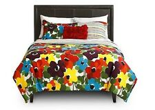 New Marguerite Duvet Set 100% Cotton Modern Floral Design Twin Full Queen King