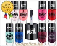 Essence Colour Boost High Pigment Nail Paint 1 Coat & Go Summery Shiny Styles