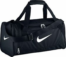 Nike Brasilia 6 X-Small Duffle Bag in BLACK/WHITE BRAND NEW WITH TAGS!