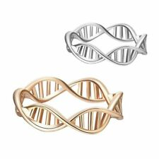 Science DNA Shape Molecule Chemistry Ring Finger Ring Statement Rings Ring