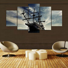 The Pirate Ship Royal Conquest Modern Painting Poster Canvas Wall Art Home Decor