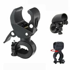 Bicycle Bike Flashlight Mount Clamp Clip Grip Cycling Torch Bracket Holder New