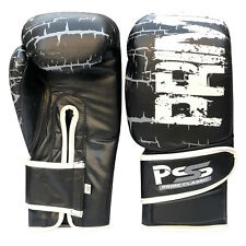 Leather Boxing Gloves Muay Thai Training Fight Kick Boxing Punching Mitts 1060