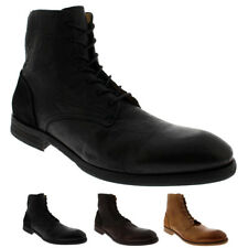 Mens H By Hudson Yoakley Calf Leather Smart Office Suit Work Chukka Boot UK 6-12