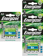 Energizer Extreme AA Rechargeable Batteries NiMH 2300mAh Ready To Use HR06