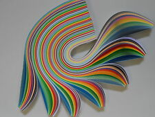 Iris Folding Paper or Extra Large Quilling Paper - 20mm wide, assorted colours