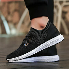 New Fashion Mens Casual Sneakers Lace Up Mesh Breathable Sport Athletic Shoes