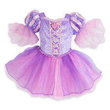 NWT Disney Store Rapunzel Deluxe Costume Baby 3 6 12 18 24 Mo Tangled Princess