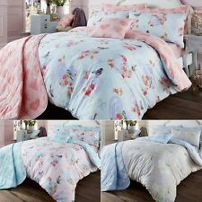 Luxury Vintage Style LOVE BIRD Duvet Quilt Cover Bedding Set with Pillowcases
