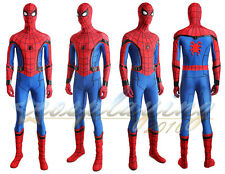 New Spider-man Homecoming Cosplay Costume Mask Boots Sole Web Shooter Full Set