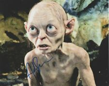 Andy Serkis Autographed Signed 8x10 Photo LOTR Gollum