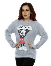 Disney Women's Mickey Mouse Believe Sweatshirt