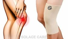 Solace Care Neoprene Knee Long Support Closed Brace Sleeve Protector Sports Pain