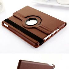 360 Rotating Leather Folding Case Skin Smart Cover Stand for Apple iPad Air 2