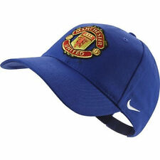 NIKE MANCHESTER UNITED CORE CAP FOOTBALL ONE SIZE Blue.