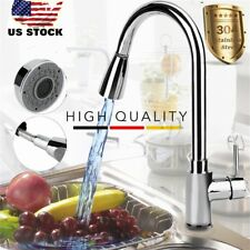 Faucet Mixer Hot & Cold Water Kitchen Tap Chrome Copper Swivel Basin Faucet OB