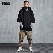 FORGIVENESS C581 Men Casual Pants Multi-pocket Zipper Design Loose Trousers EA