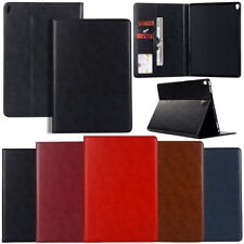 Flip PU Leather Protector Card Wallet Stand Case Cover For Apple iPad Tablet