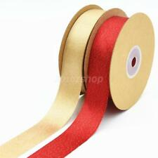25mm Premium Double Faced Sided Satin Ribbon Reels Trim Ribbon Craft supplies