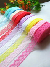 wholesale! 400 yards (1 roll) beautiful lace ribbon clothing accessories
