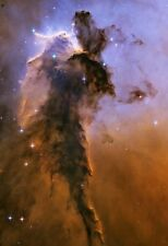 NASA Eagle Nebula Space Hi Gloss Poster Fine Art Print