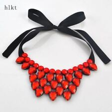 heart-shaped resin necklace fashion accessories short statement necklace