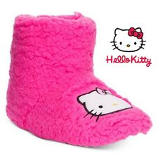 Hello Kitty Faux Sherpa Slipper Boots by Sanrio Sizes 5/6 S, 7/8 M, 9/10 L