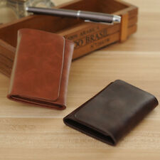 Men Leather Bifold Wallet Credit/ID Card Pockets Holder Clutch Purse Money Clip
