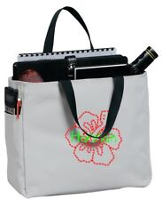 Personalized Embroidered Hibiscus Flower Sport Essential Tote Bag CSB0750HF-CH