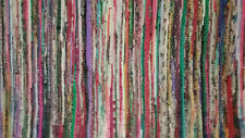 NEW HANDWOVEN ACCENT RUGS & SHAG RAG RUGS, MULTI COLOR PICK-A-DESIGN VARIATIONS