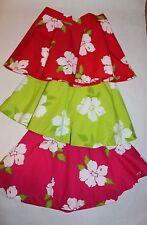 New HOLLISTER by Abercrombie Women's/Junior Seascape Floral Skirt Green Size