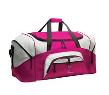 Dance 2 Personalized - Colorblock Sport Large Duffle Bag Great For The Gym Or T