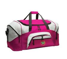 Basketball Personalized - Colorblock Sport Large Duffle Bag Great For The Gym O
