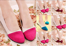 Womens Pointed Toe Flats Suede Slip On Loafers Work Casual Pumps Ballet Shoes
