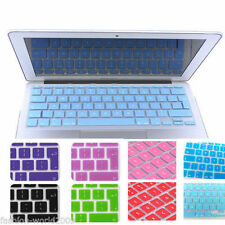 Si Keyboard Skin Cover  For Apple Macbook 11,12,13,15,17 Inch Air Pro Retina