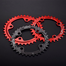 Narrow Wide Chainring 96BCD 32/34/36/38T Bike Single Chainring Round Oval Disc