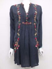 NWT Johnny Was Prairie Vine Embroidered Long Tunic - S / M - JW50770817