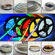 5M LED Flexible Strip Light 3528 2835 3014 5050 5054 5630 5730 7020 SMD 12V DC