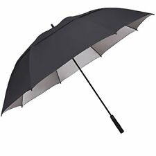 G4Free 68 inch UV Sun Protection Automatic Open Golf umbrella Double Canopy Vent