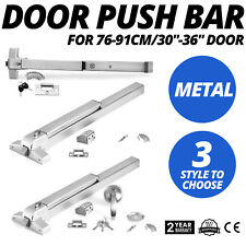 3 Style  Exit Panic Bar Push Door Device Emergency Push bar Commercial New