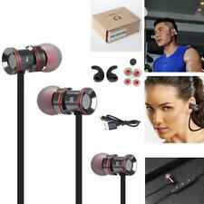 Black -MD53 Sports Bluetooth Stereo Headphone Earphone For Call Phone Samsung