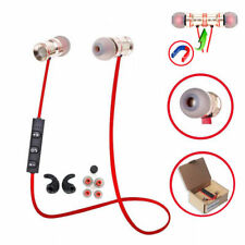 Red MD53 In-Ear Wireless Sports Bluetooth Headphone Earbuds Headset Earphone