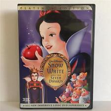Walt Disney SNOW WHITE & the SEVEN DWARFS 2-Disc DVD Disc Platinum Edition